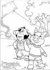 Jakers! The Adventures Of Piggley Winks coloring page (010)