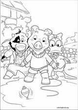 Jakers! The Adventures Of Piggley Winks coloring page (012)