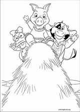 Jakers! The Adventures Of Piggley Winks coloring page (019)