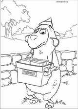 Jakers! The Adventures Of Piggley Winks coloring page (046)