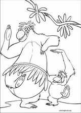 Jungle Book coloring page (025)