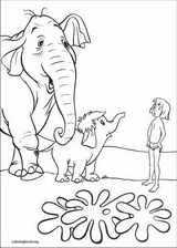 Jungle Book coloring page (027)