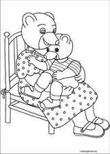 Little Brown Bear coloring page (001)