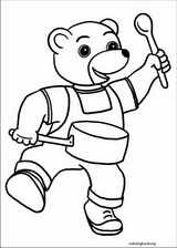 Little Brown Bear coloring page (002)