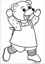 Little Brown Bear coloring page (006)