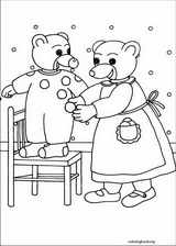 Little Brown Bear coloring page (011)