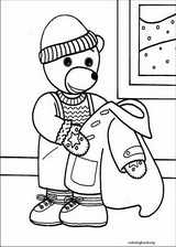 Little Brown Bear coloring page (015)