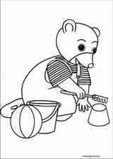 Little Brown Bear coloring page (016)