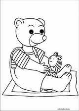 Little Brown Bear coloring page (019)
