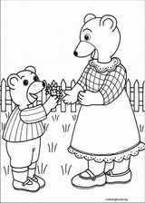 Little Brown Bear coloring page (020)