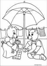 Little Brown Bear coloring page (021)