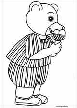 Little Brown Bear coloring page (026)