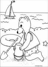 Little Brown Bear coloring page (027)