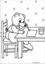 Little Brown Bear coloring page (036)
