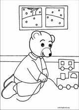 Little Brown Bear coloring page (038)