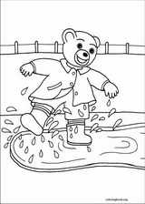 Little Brown Bear coloring page (040)