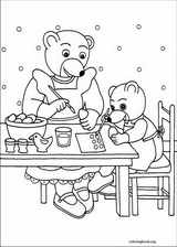 Little Brown Bear coloring page (042)
