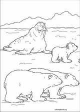 Little Polar Bear coloring page (003)