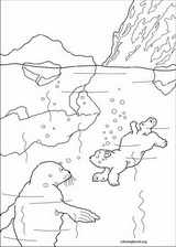 Little Polar Bear coloring page (009)