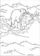 Little Polar Bear coloring page (012)