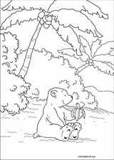 Little Polar Bear coloring page (018)