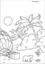 Little Polar Bear coloring page (032)