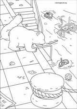 Little Polar Bear coloring page (037)