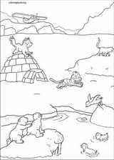 Little Polar Bear coloring page (049)
