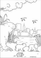 Little Polar Bear coloring page (050)