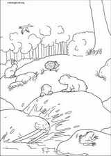 Little Polar Bear coloring page (051)