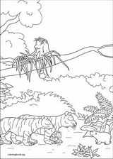 Little Polar Bear coloring page (055)