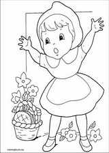Little Red Riding Hood coloring page (003)