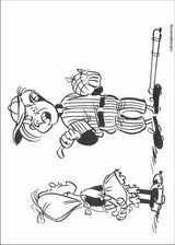 Lucky Luke coloring page (001)