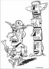 Lucky Luke coloring page (024)