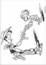 Lucky Luke coloring page (026)