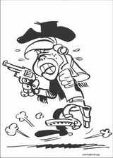 Lucky Luke coloring page (039)