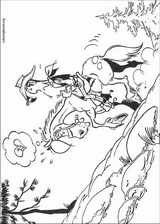 Lucky Luke coloring page (053)