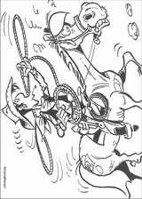 Lucky Luke coloring page (057)