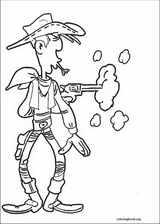 Lucky Luke coloring page (064)