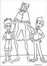 Meet The Robinsons coloring page (006)