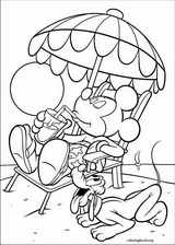 Mickey Mouse coloring page (019)