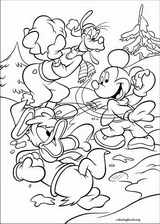 Mickey Mouse coloring page (020)