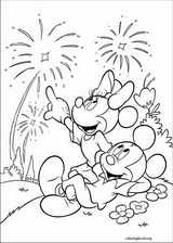 Mickey Mouse coloring page (024)