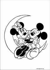 Mickey Mouse coloring page (029)