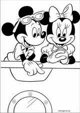 Mickey Mouse coloring page (031)