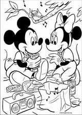 Mickey Mouse coloring page (035)
