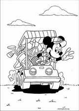 Mickey Mouse coloring page (047)