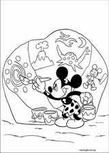 Mickey Mouse coloring page (061)