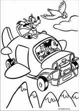 Mickey Mouse coloring page (087)