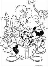 Mickey Mouse coloring page (124)